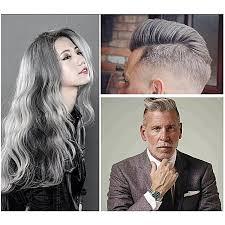 gray hair color dye cream one time temporary hair colouring washable diy home hair no