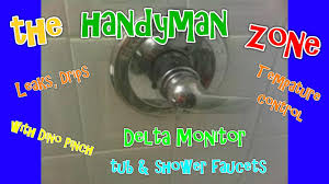 delta monitor tub shower faucet fix leaks from spout shower head rp19804 cartridge you