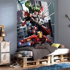 Marvel Bedroom Wallpaper Childrens Bedroom Disney Amp Character Wallpaper Wall Mural