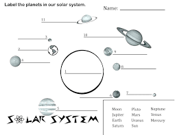 Coloring Pages Of Solar System Planets Page For Book Free Space And