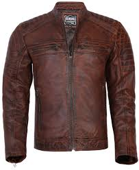 details about mens genuine napa leather biker jacket classic style motorbike motorcycle coat