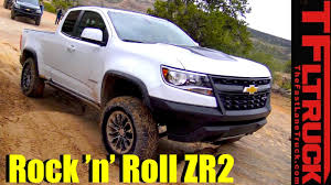 2017 Chevy Colorado ZR2 Off-Road Review: Desert Runner AND Rock ...