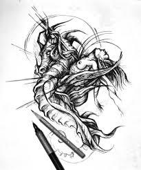 сделать татуировку русалка на предплечье 12x18 см в городе москва
