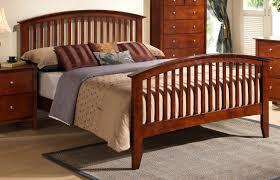 Merlot Finish Mission Style Queen Bed | Orange County, CA | Daniel's ...