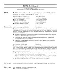 marketing assistant resume example essaymafiacom sample marketing assistant resume