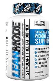 Evlution Nutrition <b>LeanMode</b>™ <b>Stimulant Free Fat</b> Burner -- 150 ...