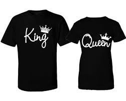 Couple Shirt Design Details About New Design Couple T Shirt King And Queen Love