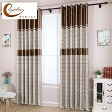 kitchen door curtains striped shading cloth bedroom living room modern  window curtain finished product blackout kitchen