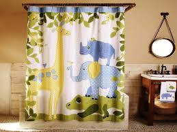Children Funny Shower Curtains Ideas For Kids Bathroom Shower ...