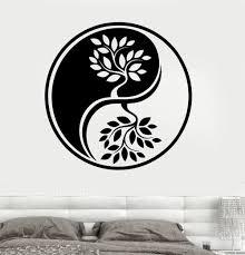 wall decal yin yang wood metal google search on wooden yin yang wall art with wall decal yin yang wood metal google search pinterest yin