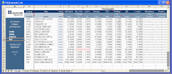 Free Stock Quotes Custom See Screen Shots Of ESQuotes The Ultimate Microsoft Excel Tool For