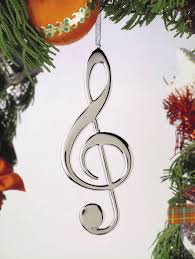 Buy Treble Clef Christmas Ornament | Music Gift | Christmas | Music  Ornaments | -