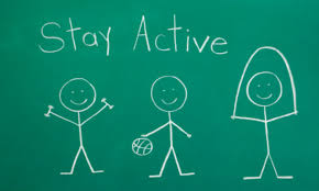 Image result for Stay Active -