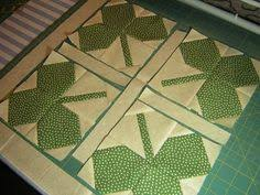 Shamrock quilt, use with four leaf clover quilt block | Quilting ... & Shamrock quilt, use with four leaf clover quilt block Adamdwight.com