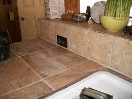 tiles on kitchen countertop ceramic tile kitchen