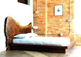 Low Wooden Bed White Low Bed Frame Profile Twin Wooden With Storage ...
