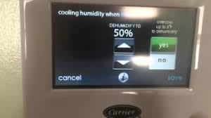 carrier infinity system thermostat. carrier infinity touch thermostat features system m