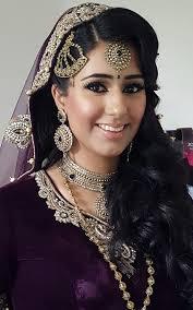 artist real bride anita pillai asian bride makeup