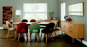 interesting upholstered dining chairs for modern dining room design ideas oslo oak red fabric upholstered