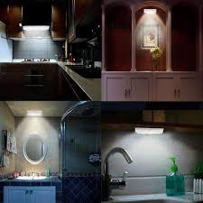 Ts Led001 Motion Sensor Night Light Stick On Portable 6 Led Wireless Closet Lamp