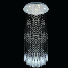 crystal drop chandelier new round modern crystal drop rain light led chandelier large hotel villa clarissa crystal drop chandelier