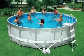 image of intex ultra frame pool setup swimming pool setup m59
