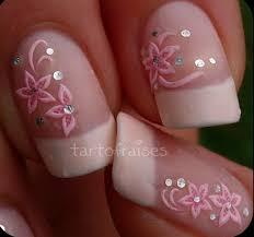Pink Nail Art Design 67 Innocently Sexy Pink Nail Designs Photos