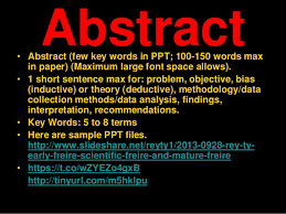 Research paper ppt example SlideShare
