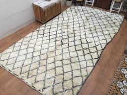 image of accent rugs vintage moroccan rug 72ft x 137ft beniouarain carpet inside accent rugs