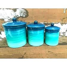 apple ceramic kitchen canister sets country canisters teal kitc