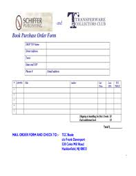 Purchase Order Format Doc Purchase Order Format Doc Templates Fillable Printable Samples