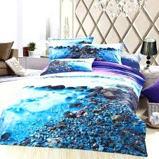beach scene duvet covers beautiful bedding within cover plan 1
