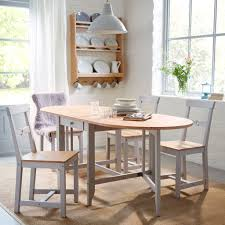 ... Dining Room Ideas, Enchanting Light Brown Oval Rustic Wooden Ikea Dining  Room Stained Ideas: