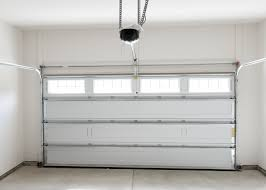 image of new garage door weatherstrip