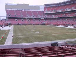 Firstenergy Stadium Cleveland View From Dawg Pound 118b