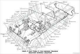 ford truck wiring diagram 1964 ford truck wiring diagrams fordification info the 61 66 1964 f100 thru f750 series trucks
