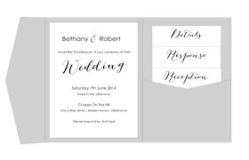Pocket Wedding Invitation Template Printable Diy Pocket Fold