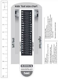 World Foot Size Chart Kids Foot Locker Size Chart Www Bedowntowndaytona Com