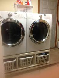 washer and dryer pedestal are laundry pedestals interchangeable for washing machine diy