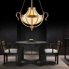 3 bulbs urn pendant lamp traditional