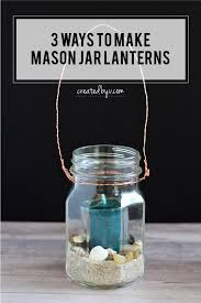 keep the good times rolling even after the sun sets with diy mason jars lanterns that