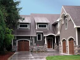 exterior house color combination. best exterior color schemes for second storey house design in grey paint combination