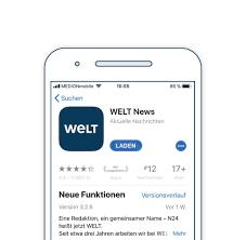 welt app