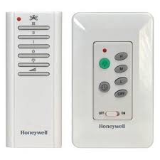 ceiling fan remote control. honeywell combo wall and handheld control ceiling fan remote, model 40015 remote r