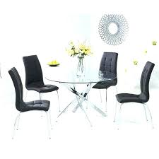 round glass dining table. Glass Dining Room Sets For 4 Extraordinary Round Table Set
