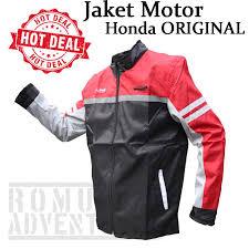 romusha jaket motor honda ori ahm bahan part motor jacket safety riding