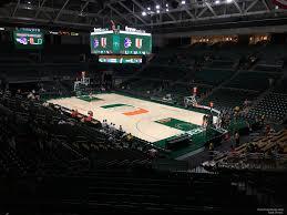 Watsco Center Seating Chart Basketball Watsco Section 120 Rateyourseats Com