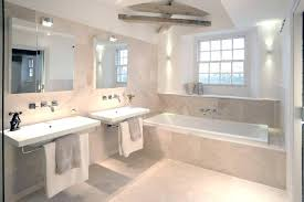 Excellent Beautiful Bathroom Tile Design With White Tub Wainscoting On A