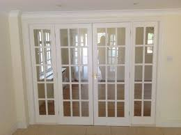 glass panel internal french doors