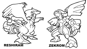 Small Picture Winsome Inspiration Pokemon Coloring Pages Entei Zekrom Vs